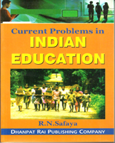 Educational Books + Current Problems in Indian Education + Dhanpatrai Books